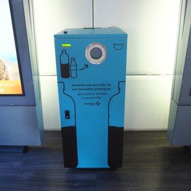 Nouvelle machine à l'aéroport de Nantes
