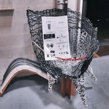 Du mobilier en plastique recyclé !