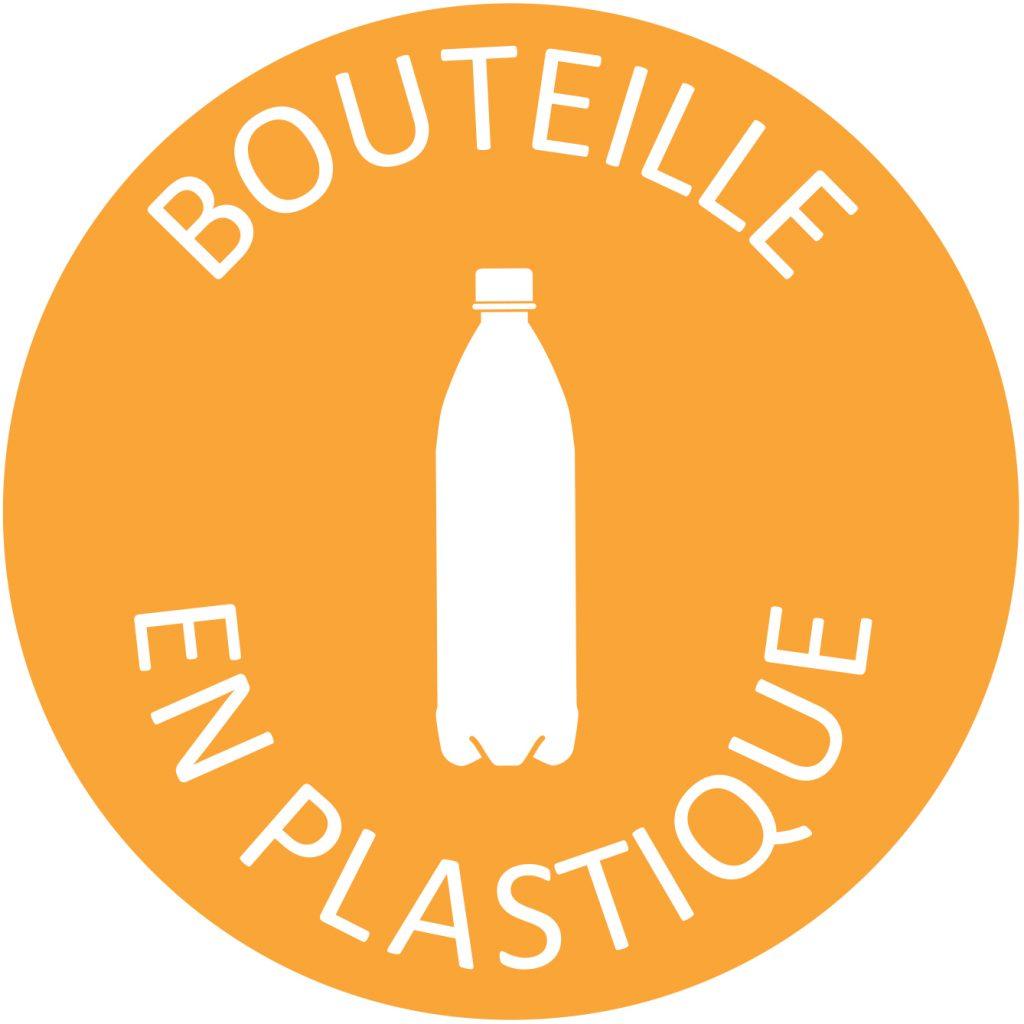 Recyclage bouteille plastique tri sélectif poubelle entreprise