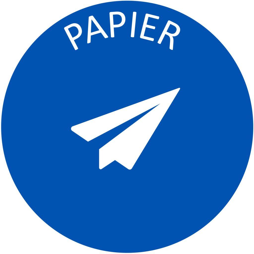 Recyclage papier tri selectif poubelle entreprise
