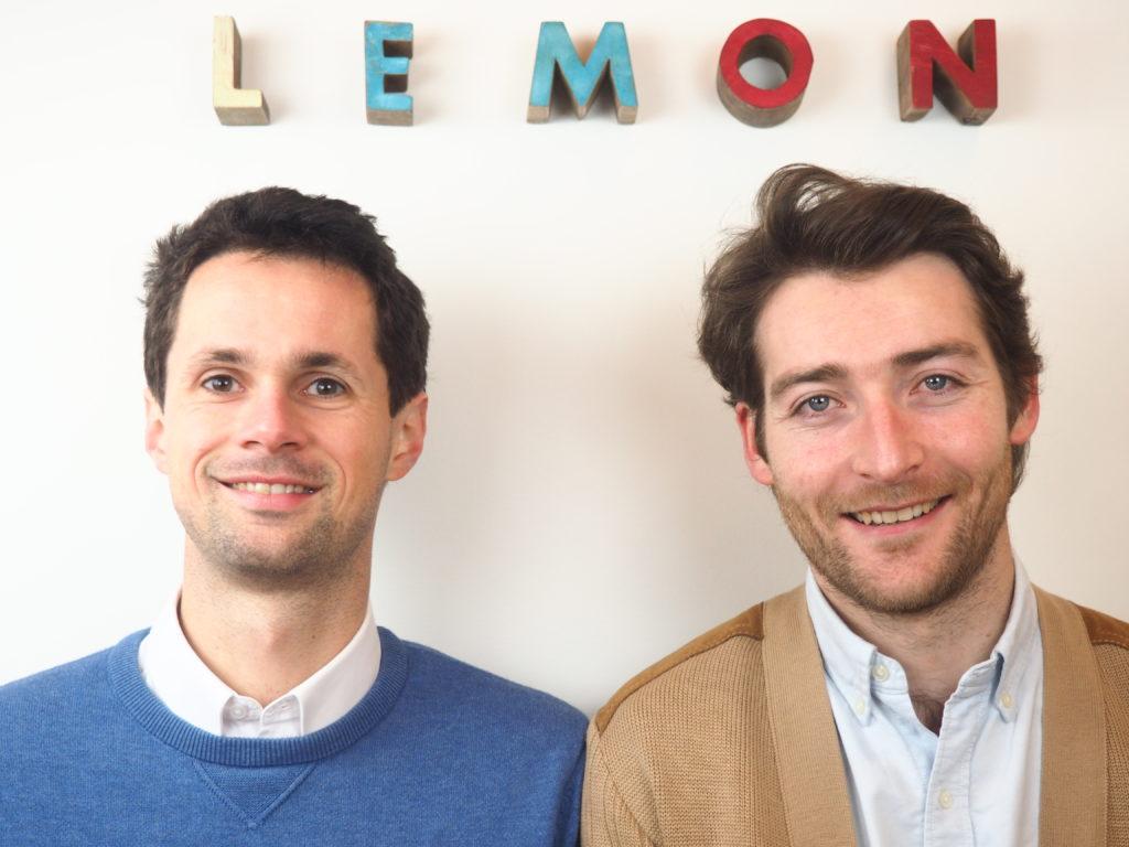 Augustin Jaclin et Emmanuel Bardin, co-fondateurs de Lemon Tri