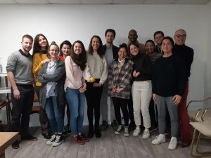 Les étudiants du Matser Affaires Internationales de l'Université Paris-Dauphine en visite chez Lemon Tri