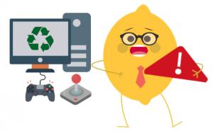 Recyclage des déchets électroniques avec Lemon Tri