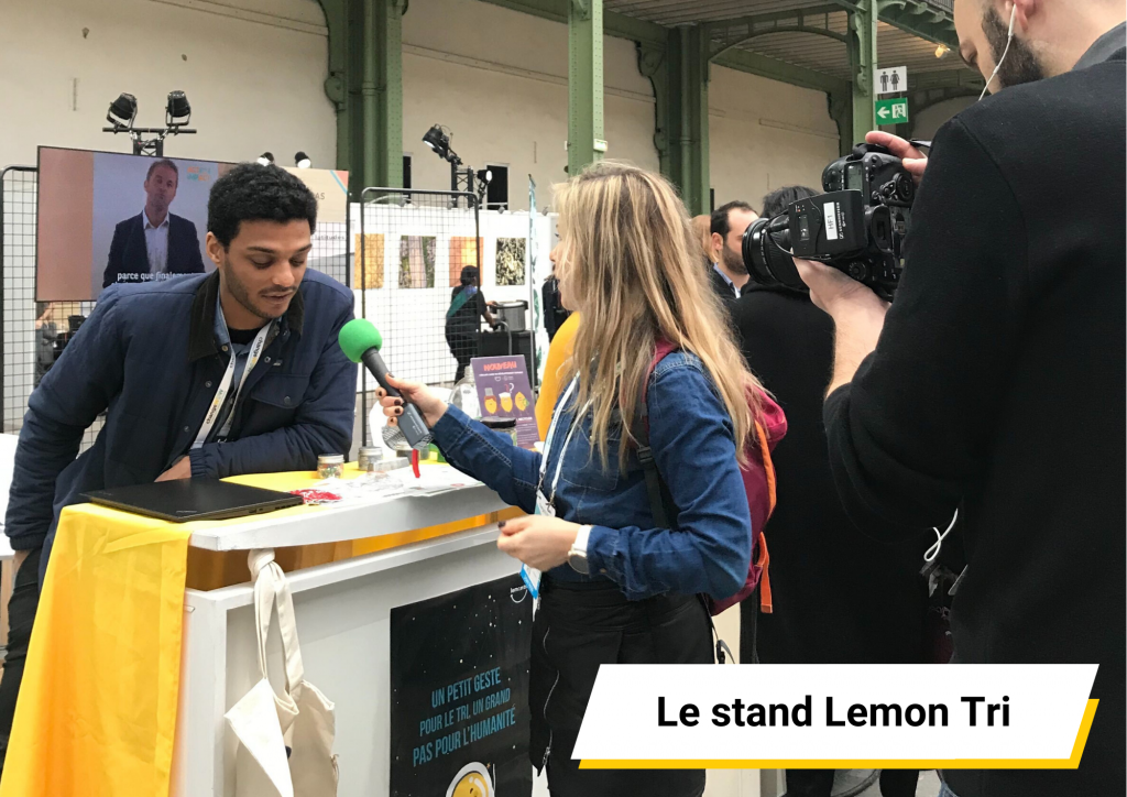Le stand Lemon Tri ChangeNOW 2020 BNP Act For Impact