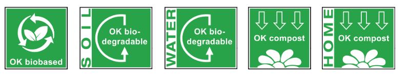Logos bioplastiques
