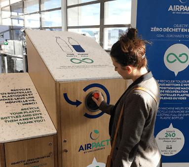 Machine Lemon Tri Liquid + pour recycler dans les aéroports
