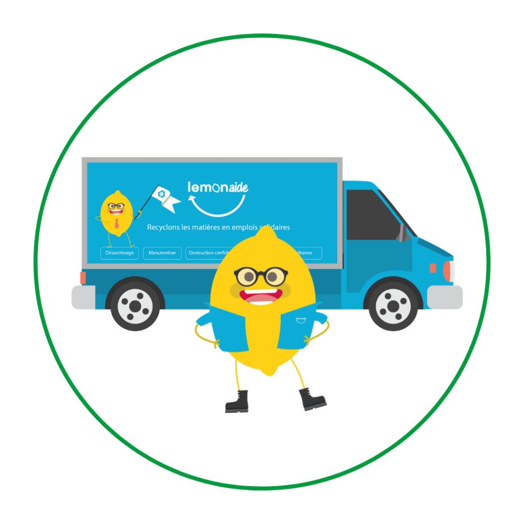 Lemon Tri collecte solidaire des déchets