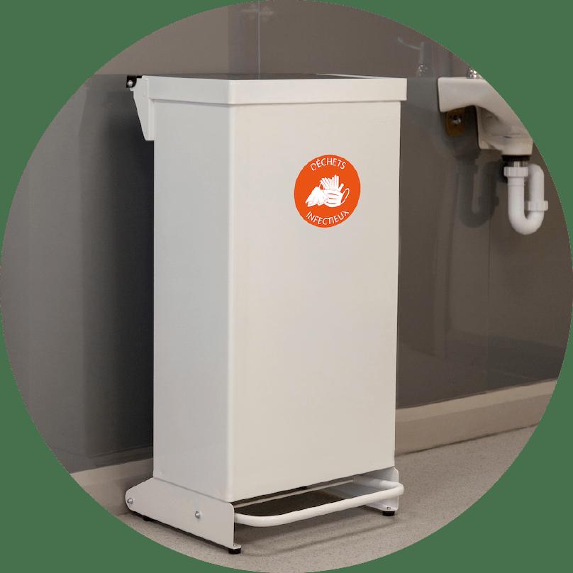 Hygo bac de tri pour déchets infectieux entreprise