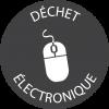 Macaron Déchet électronique