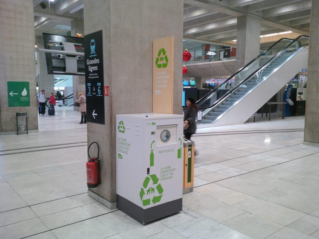Recycler dans les transports