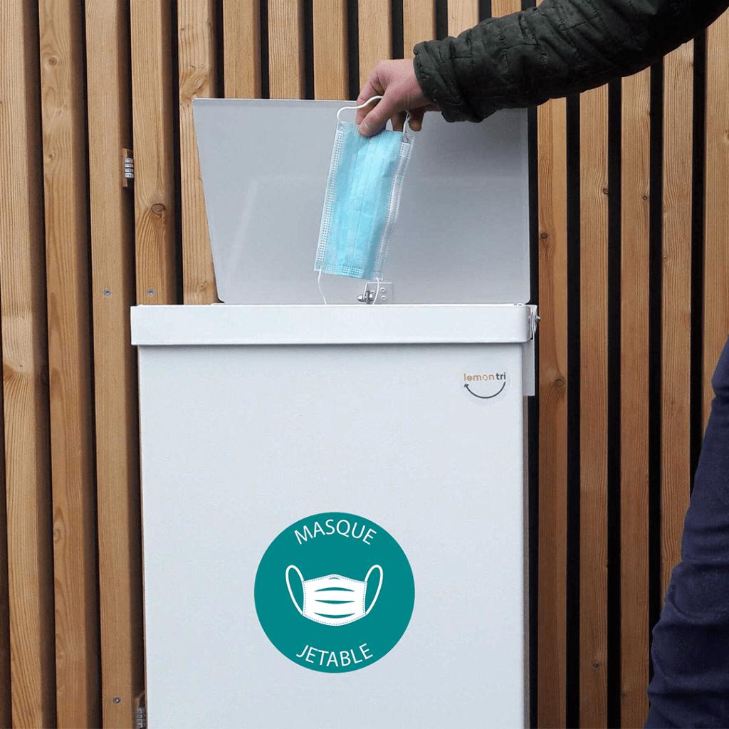 Recyclage des masques jetables avec Lemon Tri