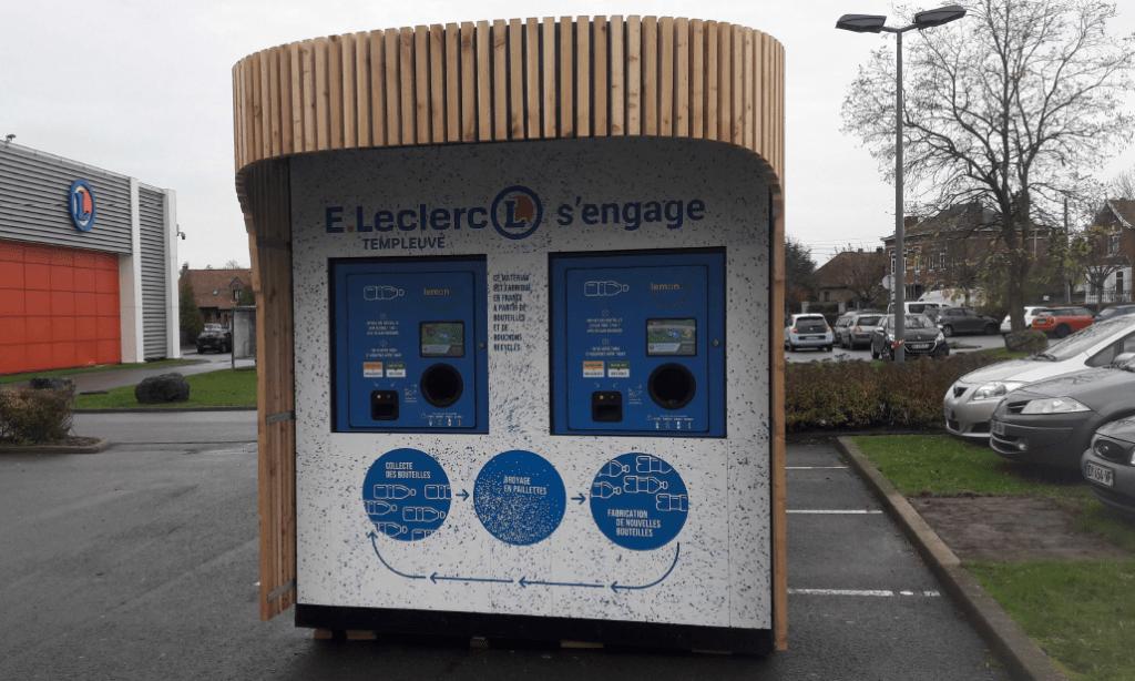 Dispositif de tri Lemon Tri = machine intelligente de tri et de recyclage pour les supermarchés