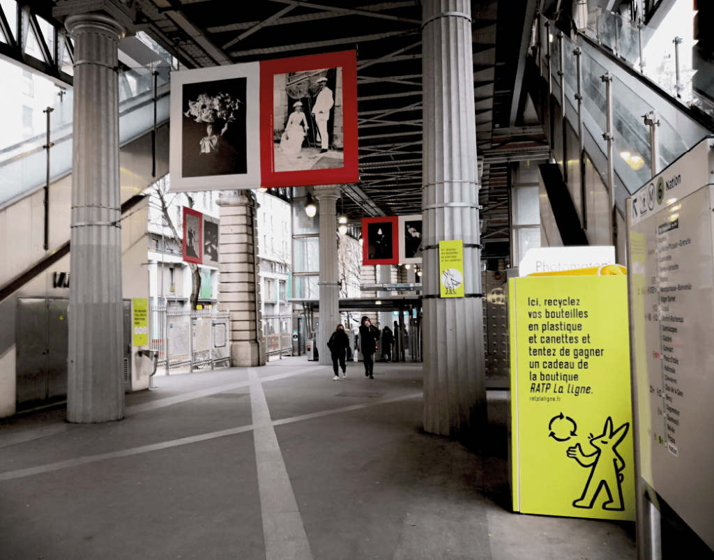 Recycler dans les transports avec Lemon Tri et la RATP