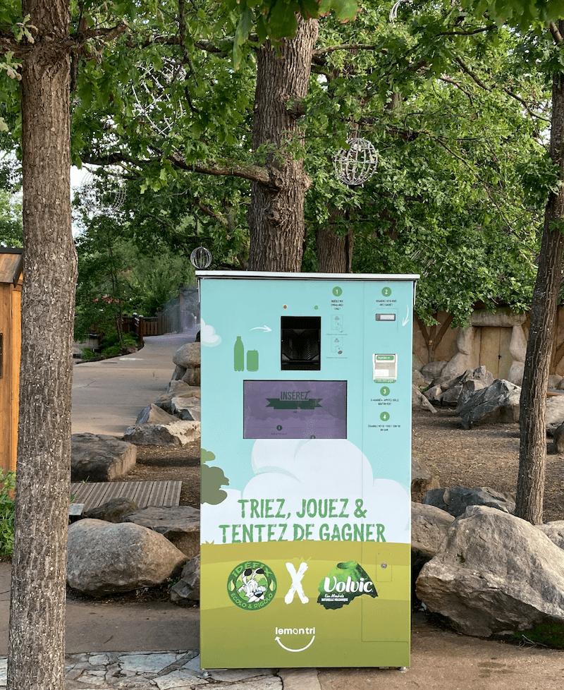 Recycler dans les parcs d'attraction avec Lemon Tri