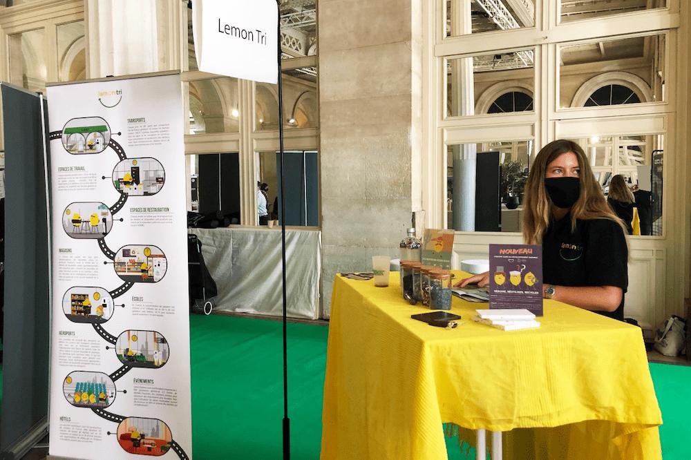 Lemon Tri stand de sensibilisation Forum Convergences 2021